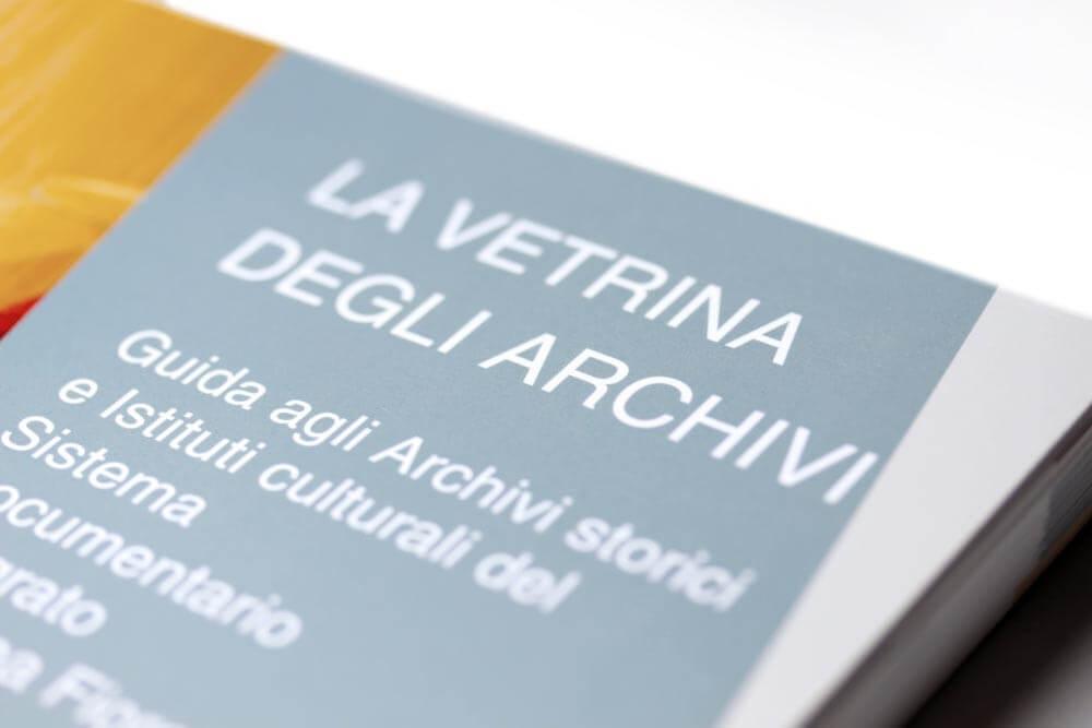 Pubblicazione Editoriale La Vetrina Degli Archivi
