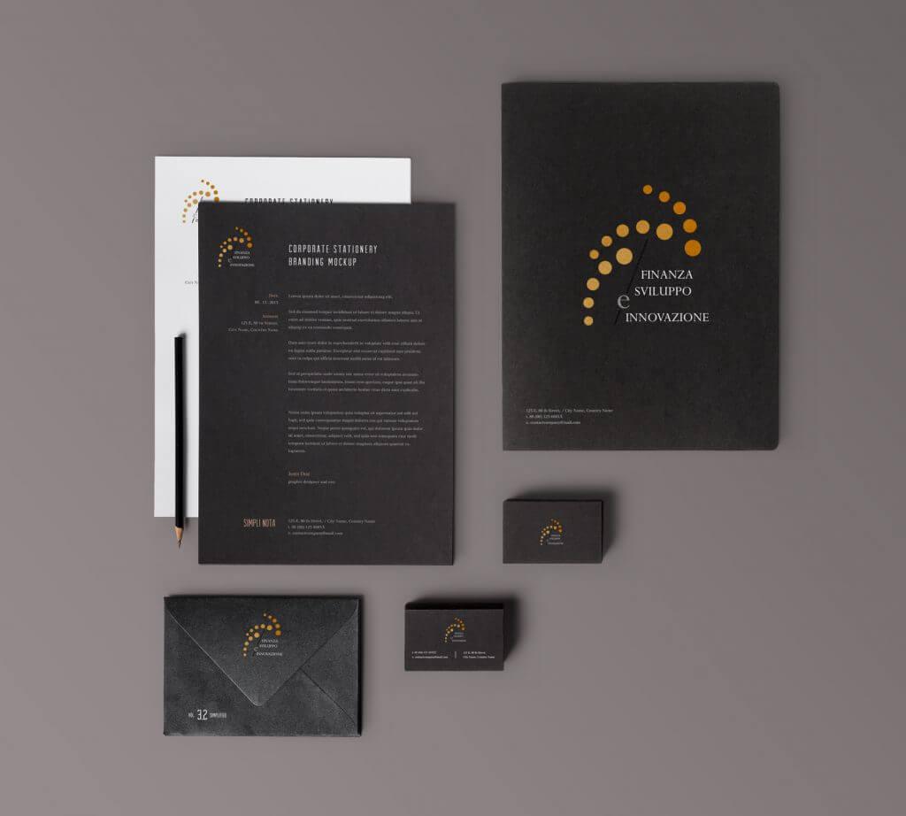 """Creazione Logo aziendale """"Finanza Sviluppo e Innovazione"""""""