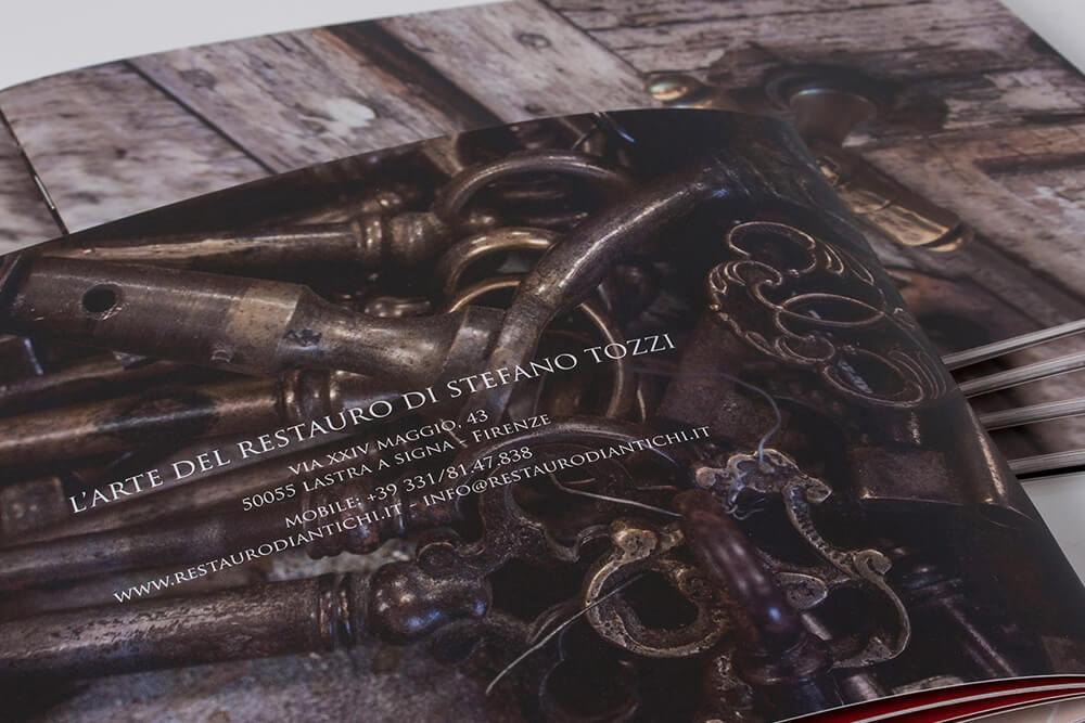 Brochure Aziendale l'Arte del Restauro