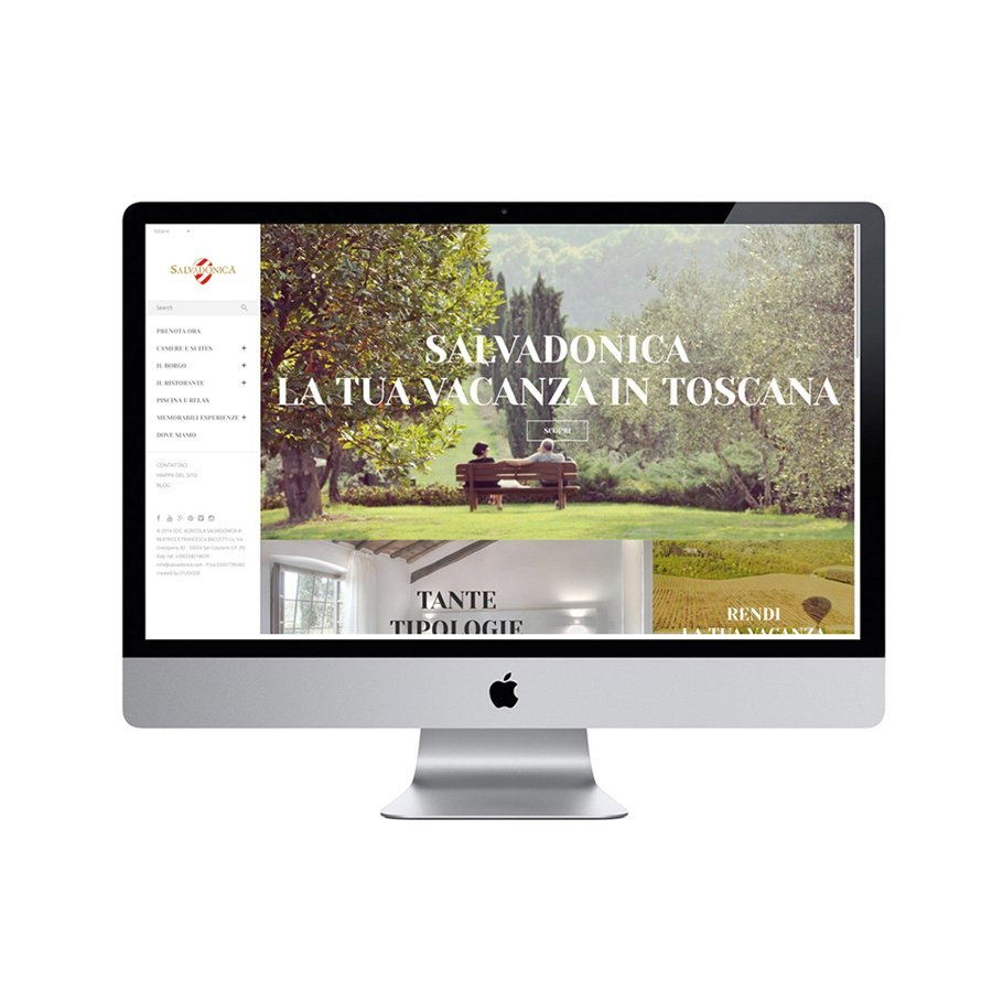 Progettazione Sito Web per Agriturismo Salvadonica